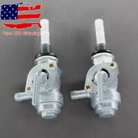 2x Gas Fuel Tank Pump Petcock Shut Off Valve Switch 100403 Gasoline Generator