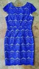 NWT Darling Candice lace dress, french navy, S