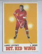 1970 TOPPS # 28 LARRY JEFFREY NICE CARD