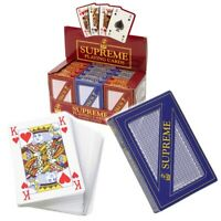 M.Y Traditional Games Plastic Coated Playing Cards Includes 2 Jokers HL215