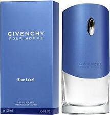 Givenchy Blue Label Pour Homme Eau de Toilette 3.3 oz Spray