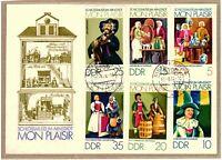 """Ersttagsbrief - """"Schlossmuseum Arnstadt Mon Plaisir"""" - 1974 mit Marken/Stempel"""
