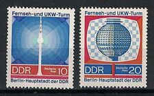 GERMANY:1968 SC#1142-43 MNH TV TOWER AND TEST PICTURE