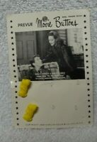 Scotty Scottie Dog Yellow Buttons Two Prevue Movie Buttons