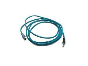 Turck RKSD RJ45S 443-3M Ethernet Cordset 3m Length RJ45 to Female M12