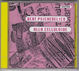 AA.VV.  Beat psichedelico alla celluloide #  CD NUOVO SIGILLATO