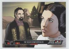 2013 Topps Wars Illustrated: A New Hope #18 The Death Star Revealed Card 0o3