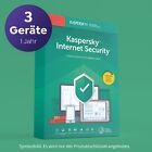 Kaspersky Internet Security 2021 3 PC Geräte 1 Jahr Neuware Email SOFORT NEU