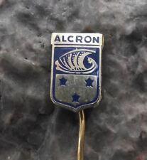 Antique Radisson Blu Alcron Hotel Winston Churchill Charlie Chaplin Pin Badge