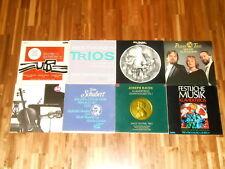 Klaviertrios – Piano Trios – SAMMLUNG – 9 LPs – Swiss Festival Trio u.a.