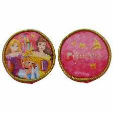 Disney Princess Round Purse Coin Pouch, 8 Cm, Pink - Fairytale Friendship Bag