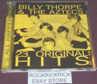 BILLY THORPE & THE AZTECS -IT'S ALL HAPPENING -23 TRACK CD-BLACK ALBERT PRESSING