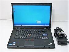 """Lenovo W520 ThinkPad 15.6"""" i7-2760QM 2.4GHZ CPU 8GB RAM 500GB HDD Quadro 1000M"""