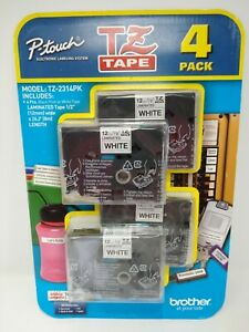 Brother P-touch Tz Tape Tz-2314pk Value 4pack