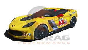 2014-2019 Chevrolet C7 Corvette Genuine GM C7.R Z06 Indoor Car Cover 23481362