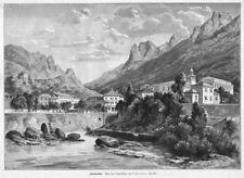 Herkulesbad, Mehadia, Sisi, Sissi, Kaiserin, Bade-Aufenthalt,Orig-Holzstich 1891