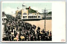 Atlantic City NJ~On the Boardwalk~Steel Pier Open Towers~Detroit Pub Co #6575