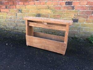 Antique Pine Carpenters Tool Box