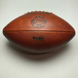 Alabama Crimson Tide Vintage Spalding J5-V Intercollegiate Football - University