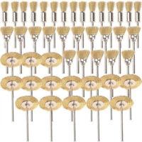 45 PC Spazzole per Ruote In Filo di Ottone Set di Spazzole per Accessori pe J8E6
