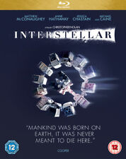 Interstellar Blu-ray (2015) Matthew McConaughey ***NEW***