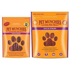 PET MUNCHIES Premium Natural DUCK STRIPS Sticks Dog Puppy Meat Healthy Treats