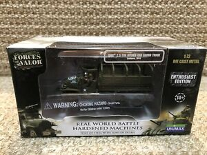 Unimax Forces Of Valor 1:72 US 2.5 Ton Cargo Truck, Ardennes 1944, No. 85099