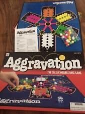 Milton Bradley Aggravation the Classic Marble Race Board Game 1999 - EXC