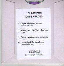 (AZ168) The Earlyman, Dope Heroes - DJ CD