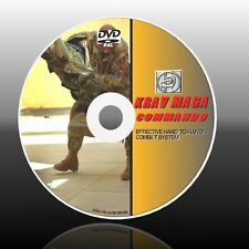 KRAV MAGA COMBAT LESSONS DVD VIDEO GUIDE EFFECTIVE COMBAT+SELF DEFENCE SKILLSNEW