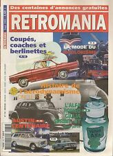 RETROMANIA 130 ALFA GIULIA COUPE LE BICOLORISME 100 ANS D'AUSTIN VAUXHALL VIVA