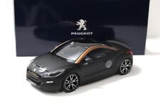 1:18 Norev Peugeot RCZ R Concept matt black DEALER NEW bei PREMIUM-MODELCARS
