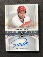 2018-19 UPPER DECK THE CUP TOM WILSON ENSHRINEMENTS AUTO E-TW #ed 90/99