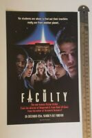The Faculty Movie RARE Print Advertisement