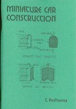 Miniature Car Construction Book C Posthumus