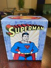 "New ListingSuperman Statue Dc Comics Golden Age 7"" Clark Kent Changing Dave Grossman 2000"