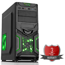 Intel i5 7400 Quad Core 3.40GHz 1TB 8GB NVIDIA GTX 1050 Gaming PC GG
