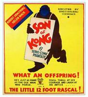 OLD MOVIE PHOTO The Son Of Kong Poster British 1933
