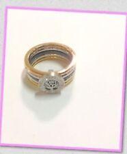 Anello Albero della Vita con 5 fedi colore oro rame argento 19  mm Idea regalo