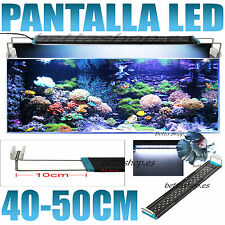 PANTALLA LUZ LED PARA ACUARIO 40-50CM PANTALLAS DE LUZ LED ACUARIO PECERA PECES
