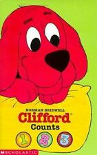 Clifford Counts 1, 2, 3 Board Book by Bridwell, Norman
