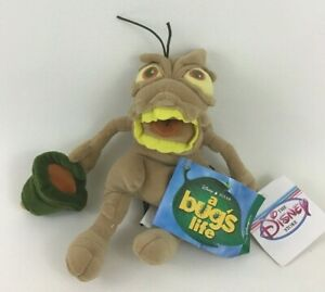 Disney Store A Bugs Life PT Flea Bug Bean Bag Plush Stuffed Toy Vintage with Tag