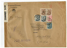 1941 Barcelona Spain Oversize Cover to USA PAramount Pictures Dual Censored 3