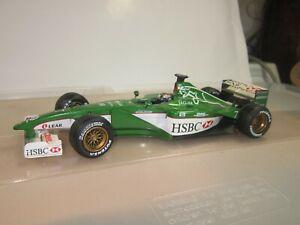 Jaguar R1 Eddie Irvine 2000 1/18  Diecast  Formula 1  Hot Wheels