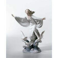 """LLADRO  FIGURINE #6965 """"ALLEGORY OF THE SEA""""   NEW IN BOX  EXTREMELY RARE"""