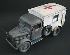 Lead Warrior 1/35 Kfz.31 KrKw. Ambulance Conversion (for Steyr 1500A/01) LW35025
