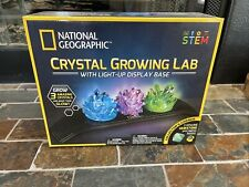 National Geographic Crystal Growing Lab With Light-up Display Base