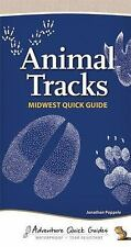 Animal Tracks of the Midwest Quick Guide, Poppele, Jonathan, Good Book