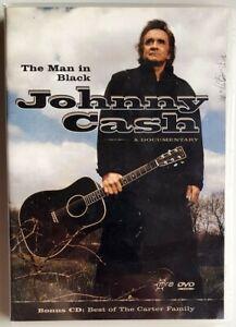 Johnny Cash - The Man In Black (DVD) incl Bonus Carter Family CD (All Regions)