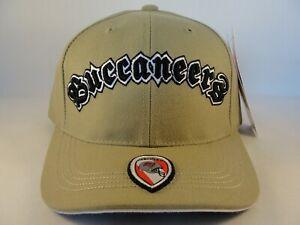 Tampa Bay Buccaneers NFL Vintage Adjustable Strap Hat Cap American Needle Khaki